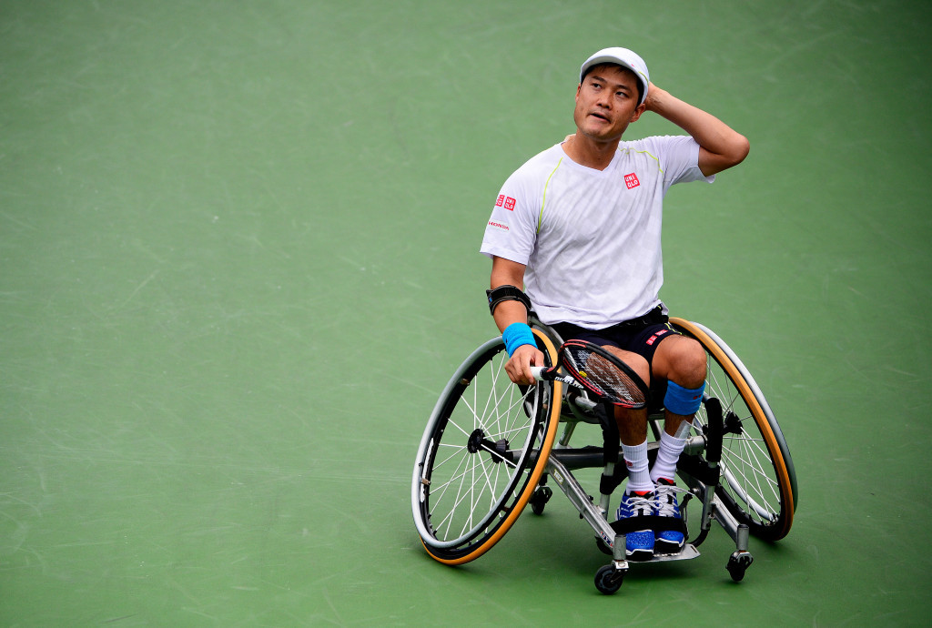 Shingo Kunieda made it through to the second round of the Japan Open today ©Getty Images