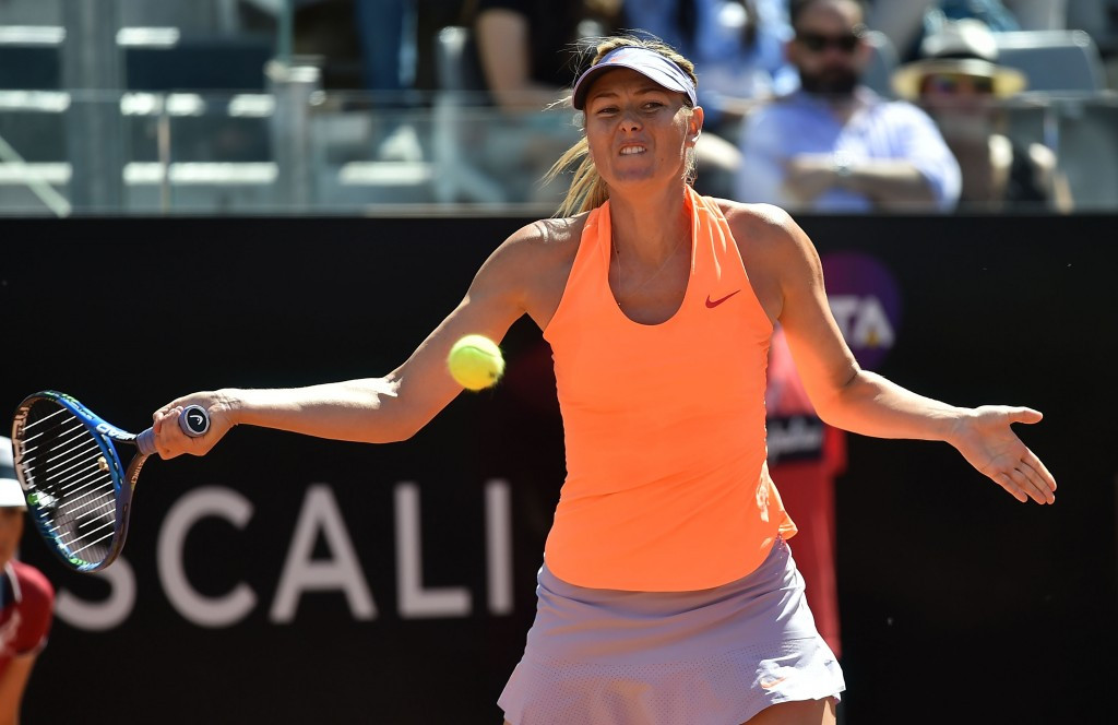 Maria Sharapova will not feature at this year's French Open after not being given a wildcard ©Getty Images