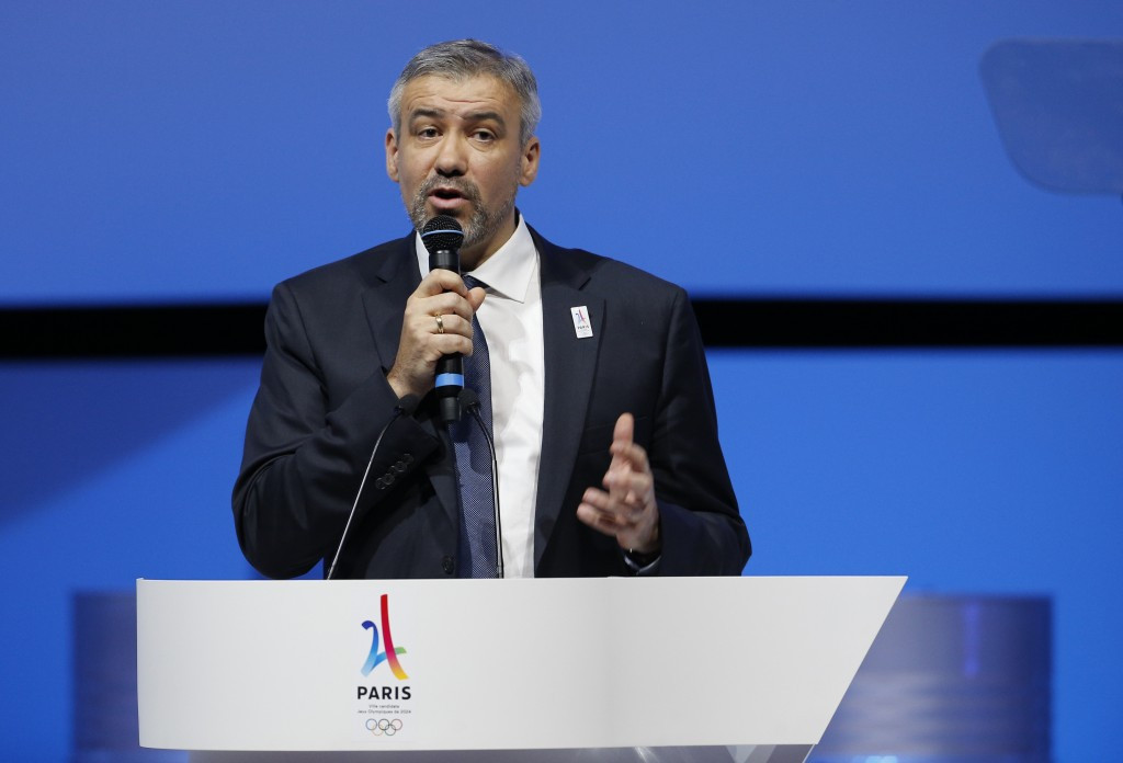 Paris 2024 chief executive denies conflict of interest after company he founded awarded contracts to work for bid