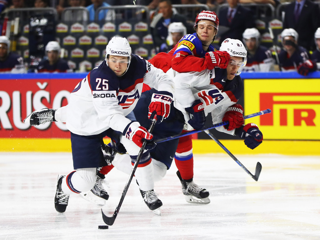 The United States beat Russia in Cologne today ©Getty Images