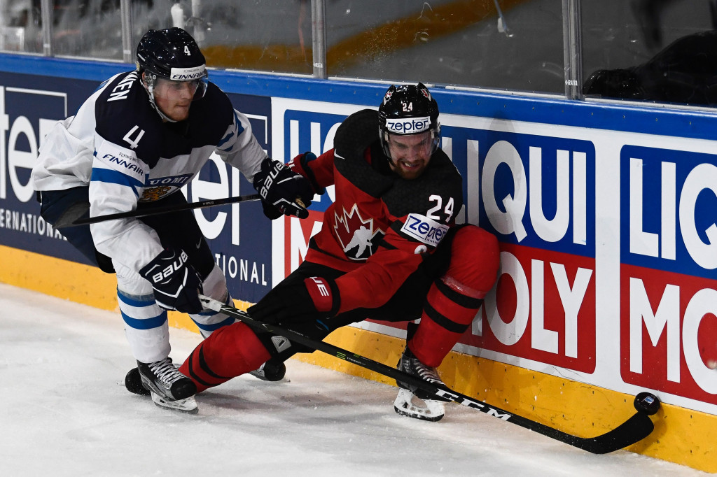 Canada beat Finland in Paris this evening to finish top of Group B ©Getty Images