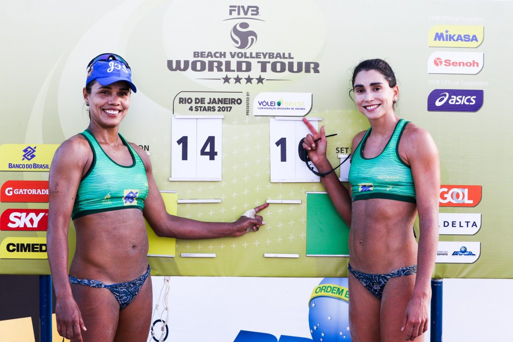 Former partners clash at FIVB Beach World Tour event in Rio