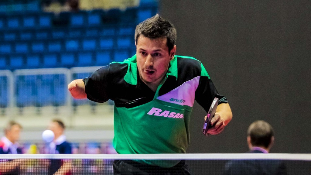 Kodjabashev makes up for Rio 2016 disappointment on ITTF Para Team World Championships opening day