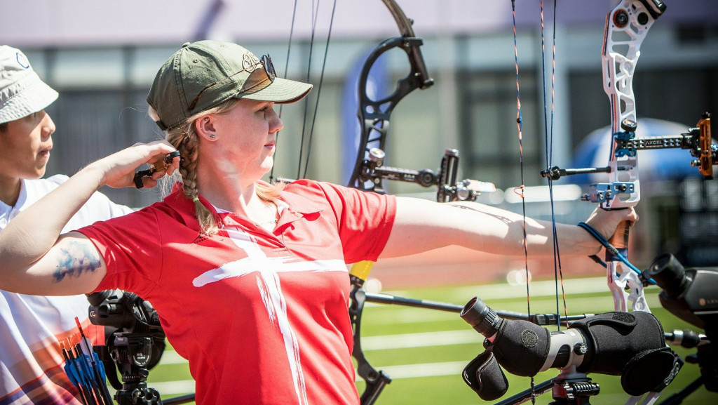 Sonnichsen improves European record in Archery World Cup qualifying in Shanghai