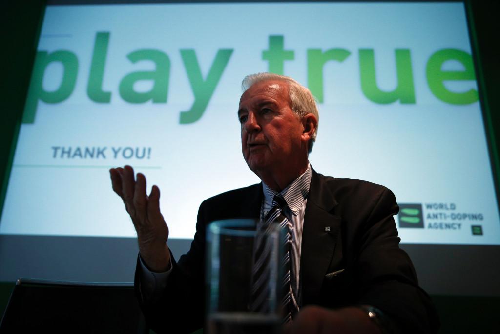 WADA President Sir Craig Reedie said
