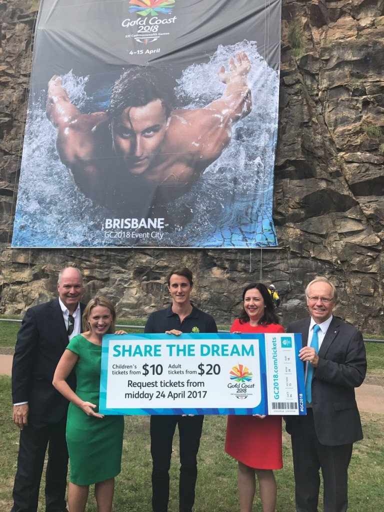 Gold Coast 2018 launched the ticket request process for next year's Commonwealth Games last month ©Gold Coast 2018