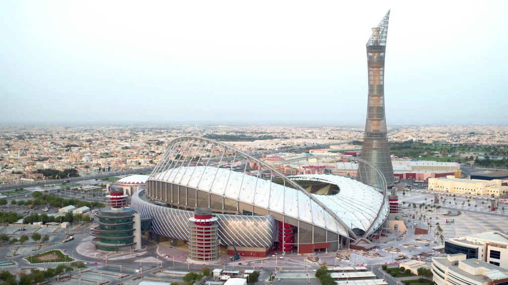 Renovation work at the Khalifa International Stadium in Doha has been completed ©Getty Images