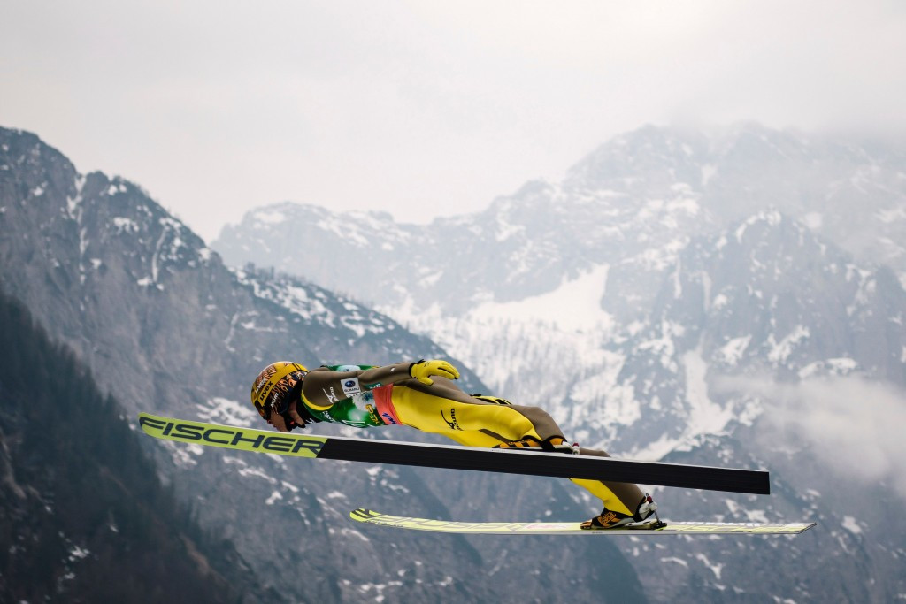 Ski flying allows greater heights and distances ©Getty Images
