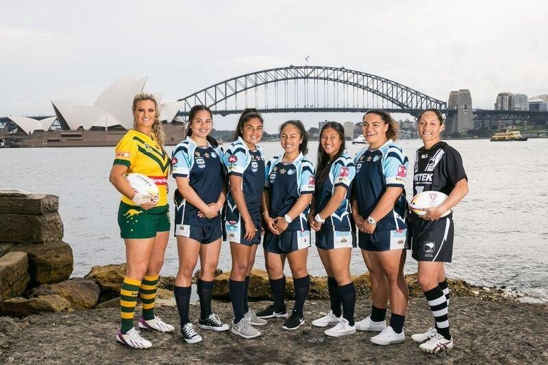 Seven Network will broadcast the Women's Rugby League World Cup in Australia ©RLIF