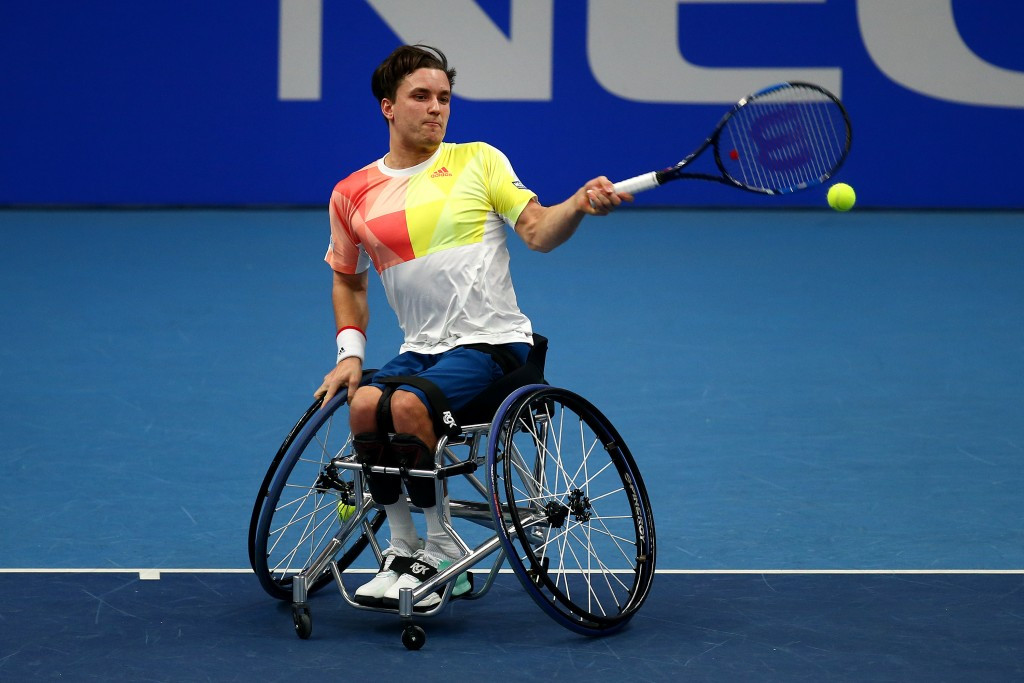 Paralympic champion Gordon Reid remains in contention ©Getty Images