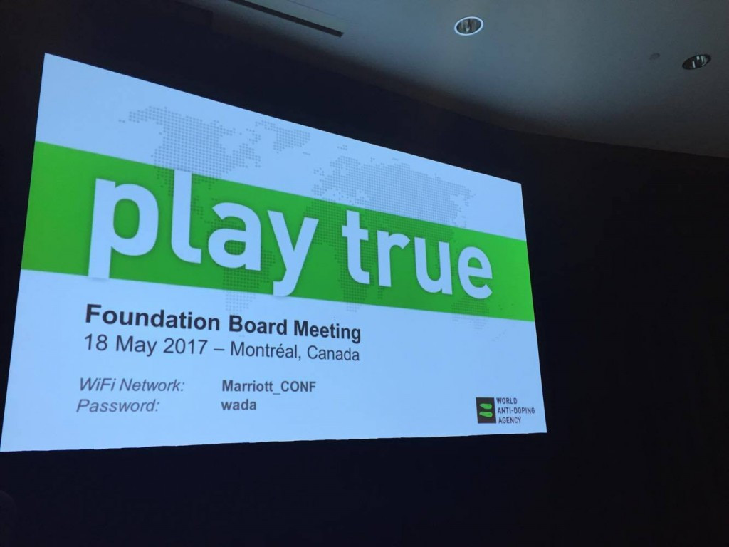 The WADA Foundation Board agreed to establish an ITA during the Foundation Board meeting ©ITG