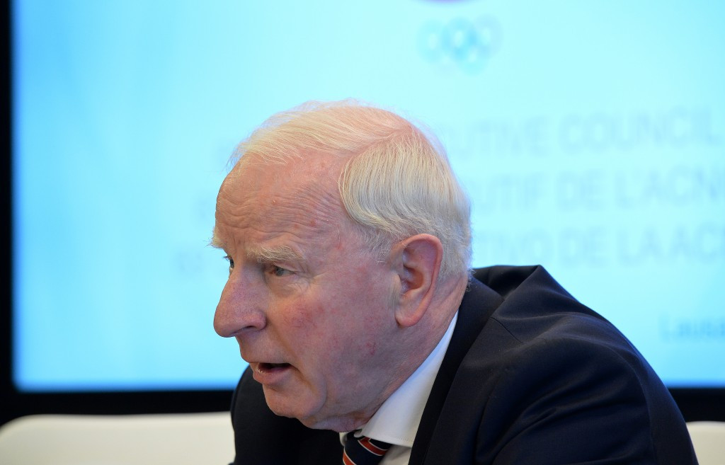 Patrick Hickey will not return as the EOC President ©Getty Images