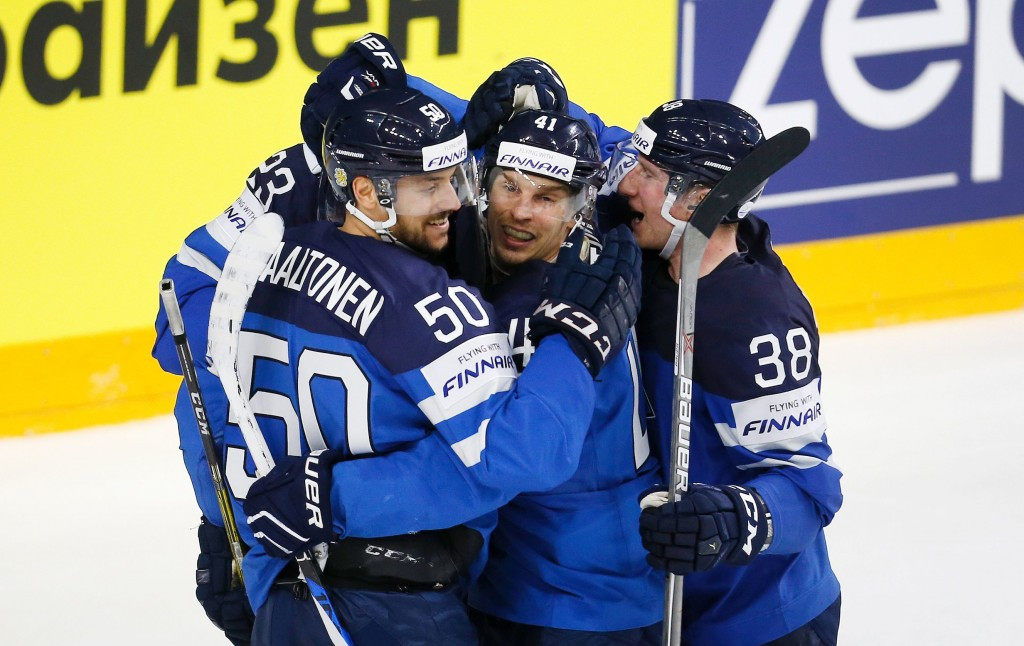 Finland have made it through to the semi-finals of the IIHF World Championships ©Getty Images