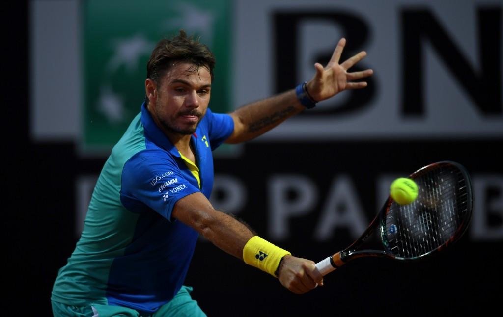 Wawrinka suffers third round loss at Rome Masters