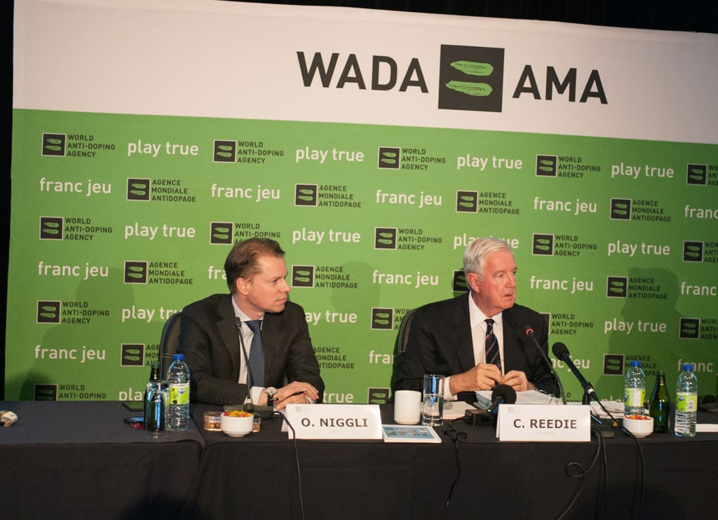 Sir Craig Reedie insisted neither he nor WADA was being soft on Russia ©Getty Images