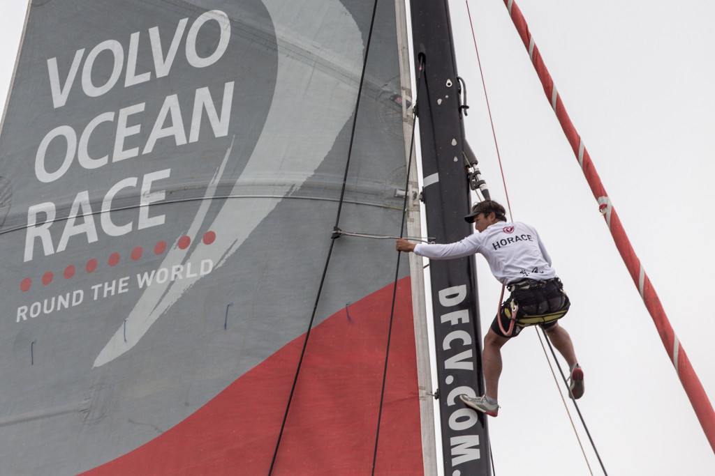 The Swedish company are the title sponsor of the Volvo Ocean Race ©Getty Images