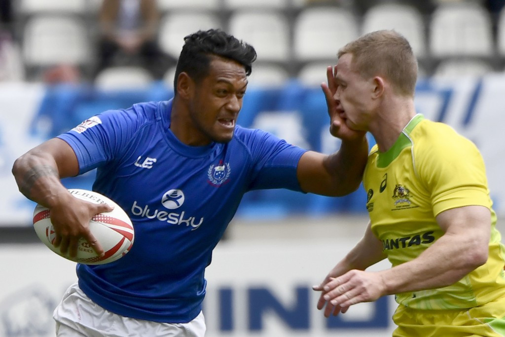 Samoa will be trying to qualify for the Rugby Sevens World Cup this weekend ©Getty Images