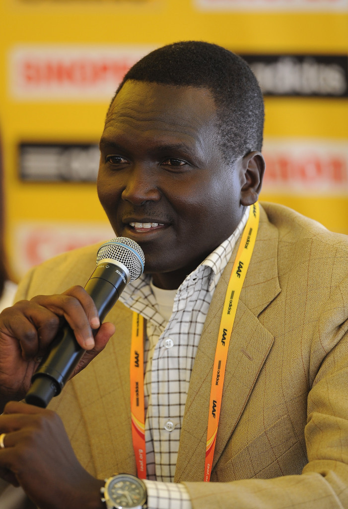 Paul Tergat is the only candidate to replace Kipchoge Keino as NOCK chair ©Getty Images