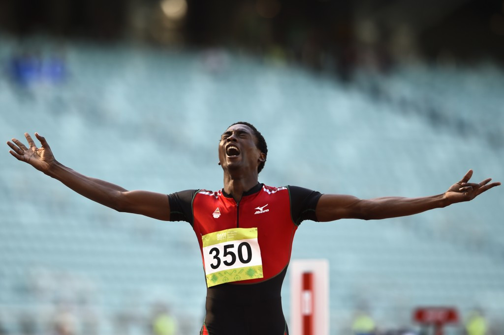 Creve Armando Machava won Mozambique's first gold medal at the Islamic Solidarity Games today ©Getty Images
