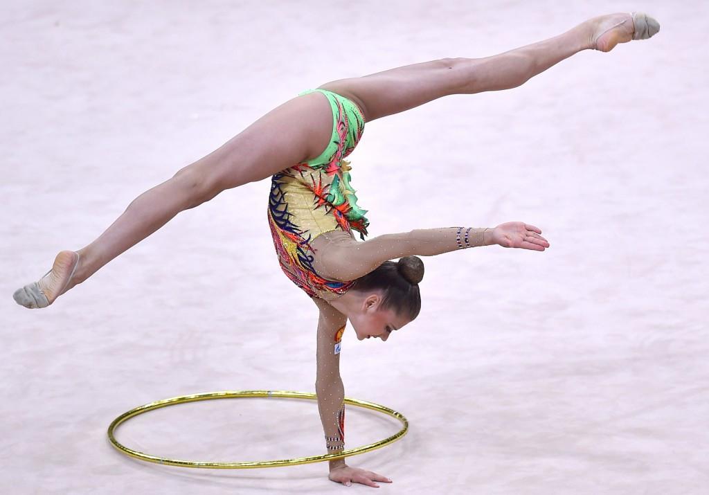 Soldatova enjoys emphatic start to European Rhythmic Gymnastics Championships