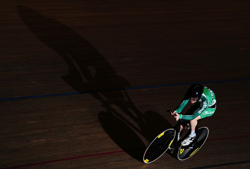 Paralympic champion Eoghan Clifford of Ireland enjoyed another successful outing in his favoured C3 time trial event ©Getty Images