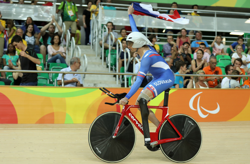 Slovakia's Jozef Metelka was another Paralympic champion who triumphed at the event in Ostend ©Getty Images