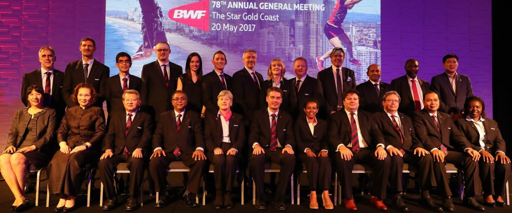 Badminton World Federation welcomes seven new members onto Council