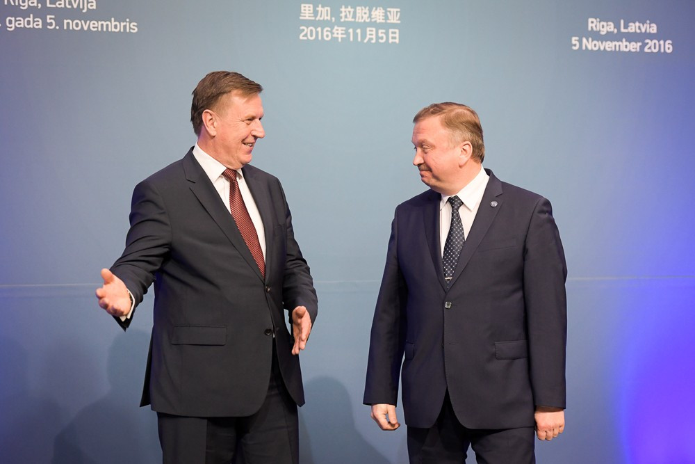 Belarus Prime Minister Andrei Kobyakov, right, has been named chair of the organising committee ©Getty Images