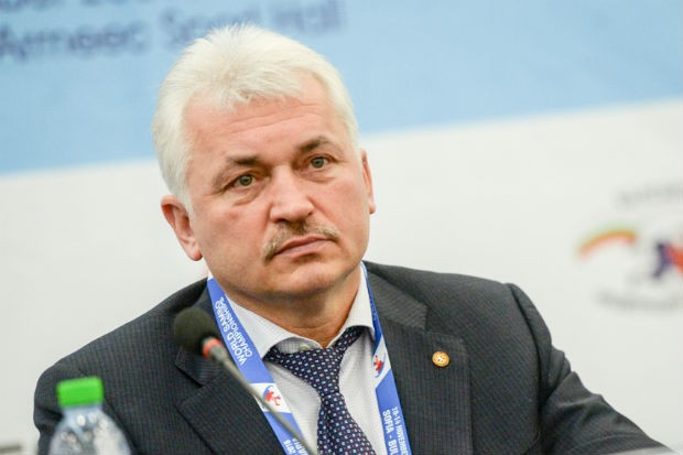 "European Sambo Federation President Sergey Eliseev has claimed it is ""useless"" for the sport's athletes to dope ©FIAS"