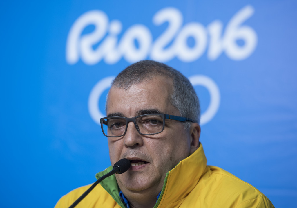 Rio 2016 director of communications Mario Andrada has admitted that medals are rusting ©Getty Images