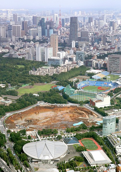 The National Stadium that hosted the 1964 Olympics has been demolished but nobody knows what will replace after  Japanese Prime Minister Shinzō ruled today that they would revisit the original designs and replace it with one that is not so expensive