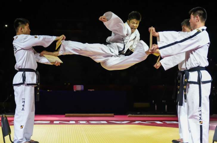 North Korean-led demonstration team to appear at World Taekwondo Championships in Muju