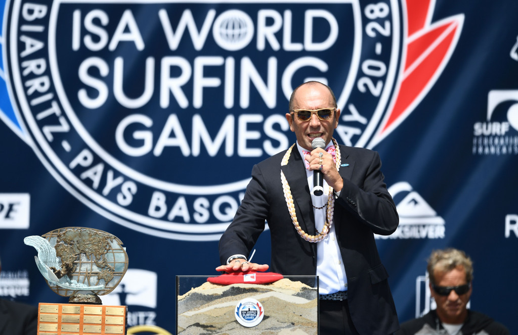 Aguerre optimistic for surfing's future if IOC jointly award 2024 and 2028 Olympics