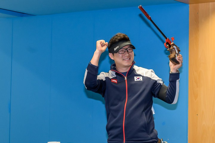 Jin wins gold at ISSF World Cup before calling for Tokyo 2020 changes to be reconsidered