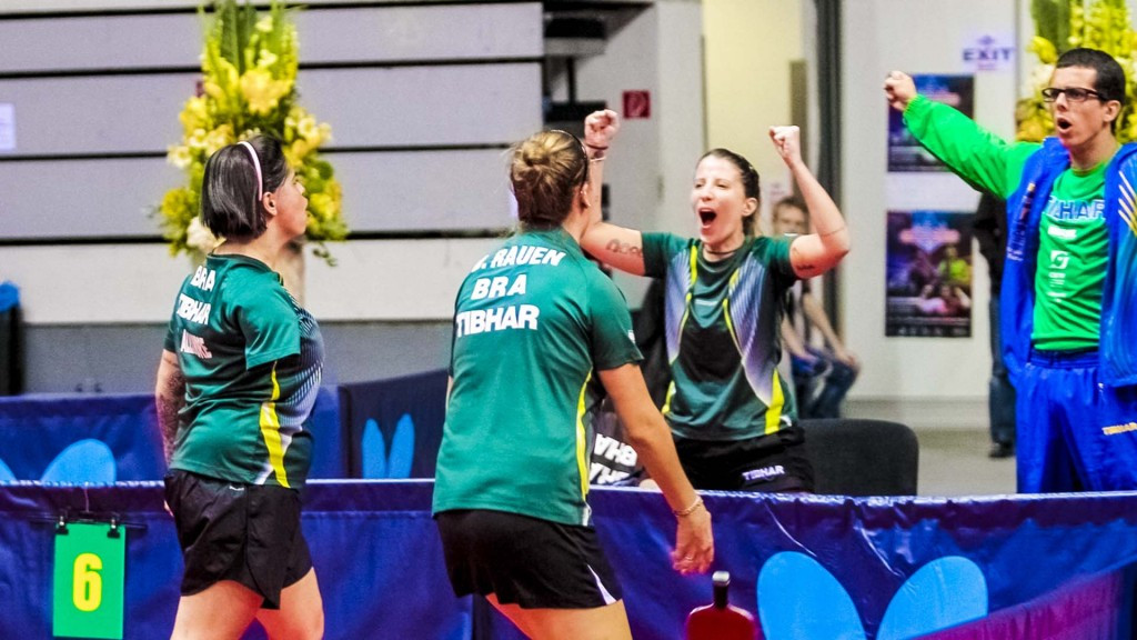 Historic title for Brazil won at ITTF Para Team World Championships