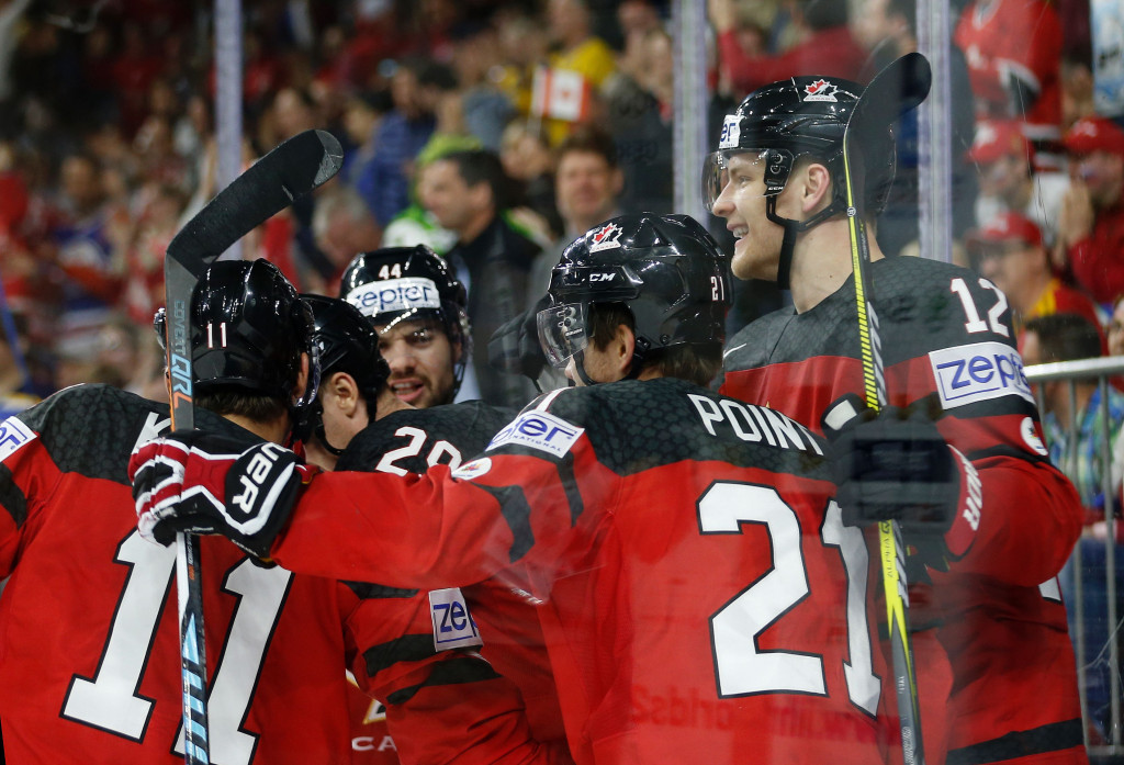 Canada are through to the IIHF World Championships final ©Getty Images