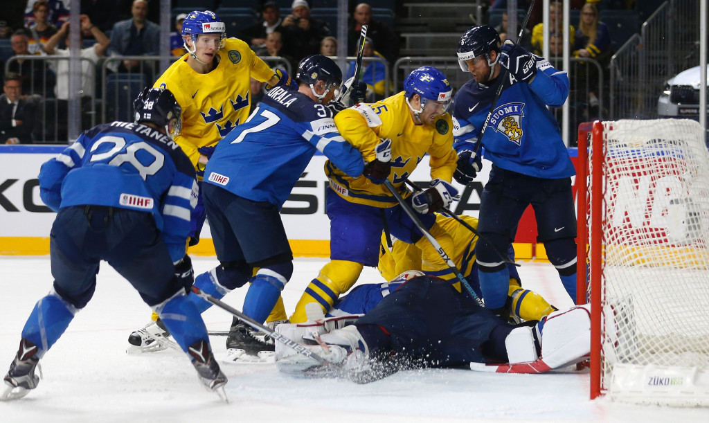 Sweden beat Finland in this evening's second semi-final ©Getty Images