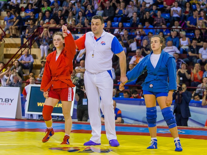 Day two of 2017 European Sambo Championships