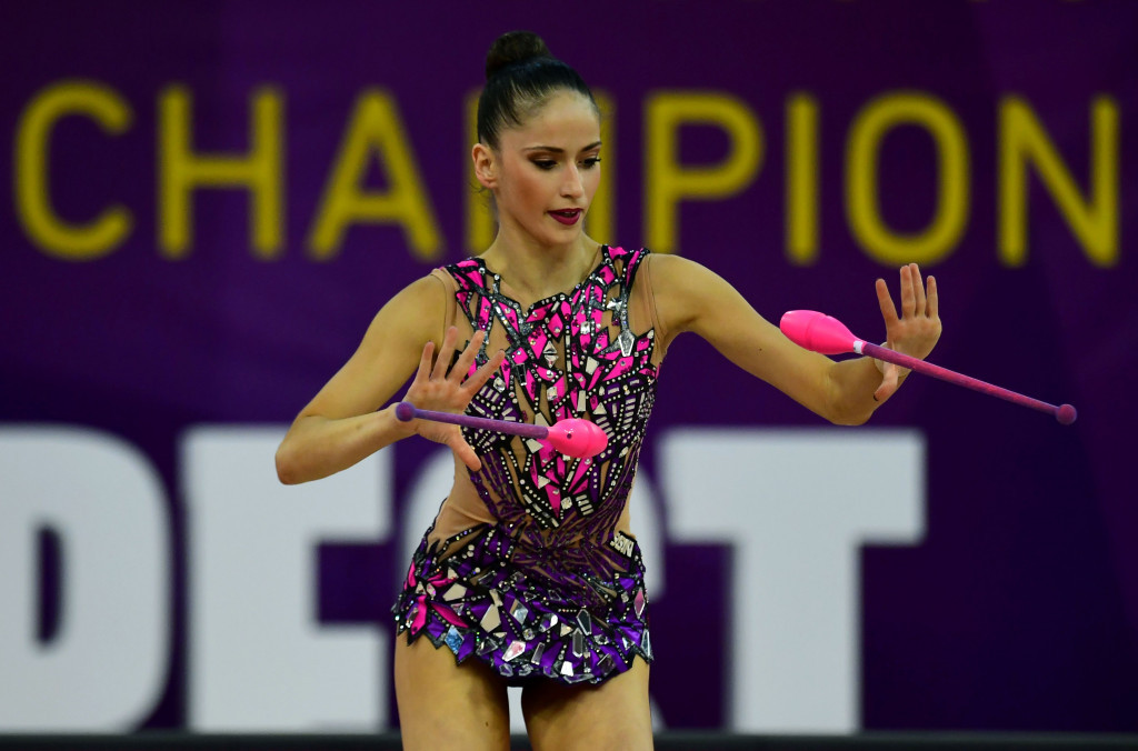 Neviana Vladinova finished second and third in today's two events ©Getty Images