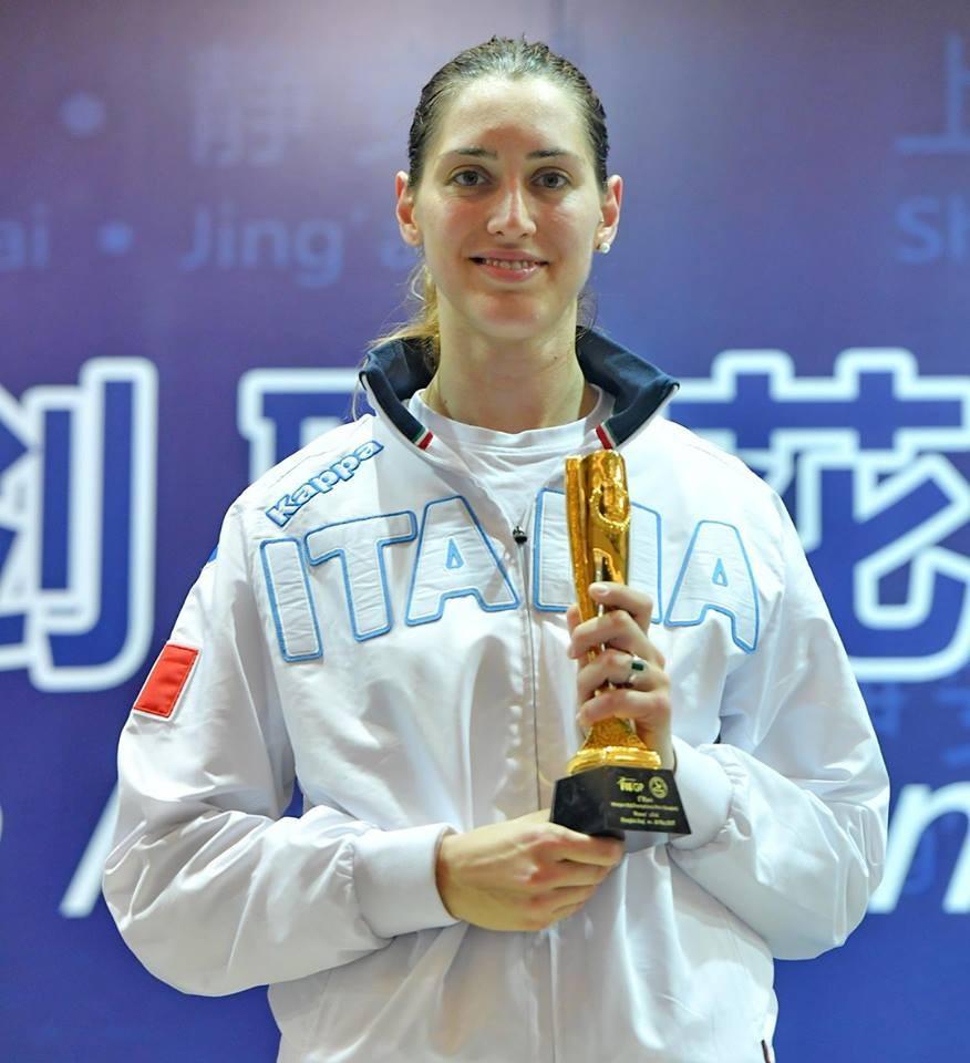 Batini claims individual foil prize in Shanghai