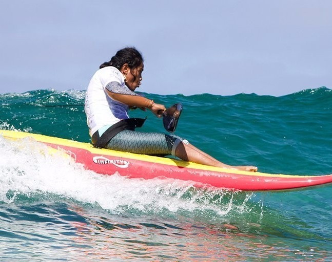 The ISA hopes that adaptive surfing will be on the 2024 Paralympic programme ©ISA