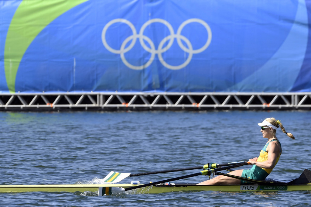 Kim Brennan won women's single sculls gold at the Rio 2016 Olympic Games ©Getty Images
