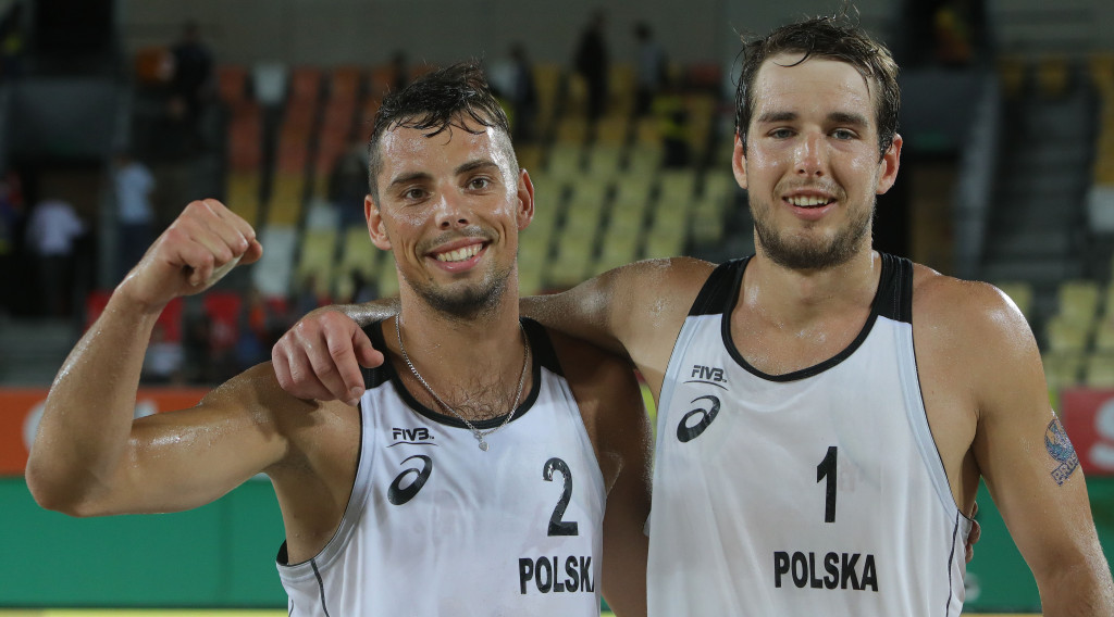 Brazilian favourites to face Polish challenge in FIVB Beach World Tour final