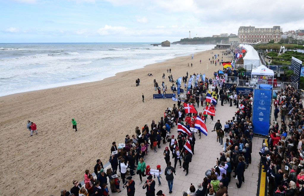 Paris 2024 hail World Surfing Games in Biarritz as example of France's capability