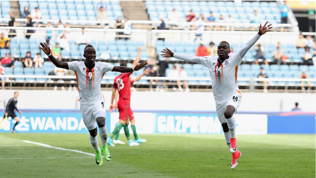 Zambia stun two-time winners Portugal in dream start to FIFA Under-20 World Cup