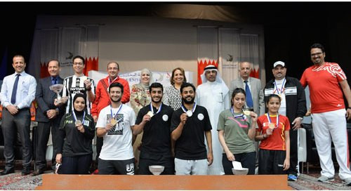 More than 45 players from nine universities competed in three categories ©OCA