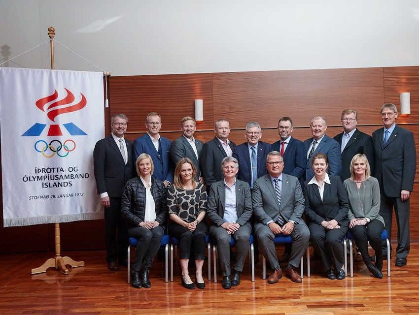Blondal re-elected as National Olympic and Sports Committee of Iceland President