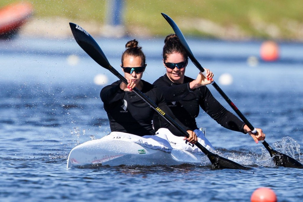 Carrington and Fisher claim golden treble for New Zealand at ICF World Cup