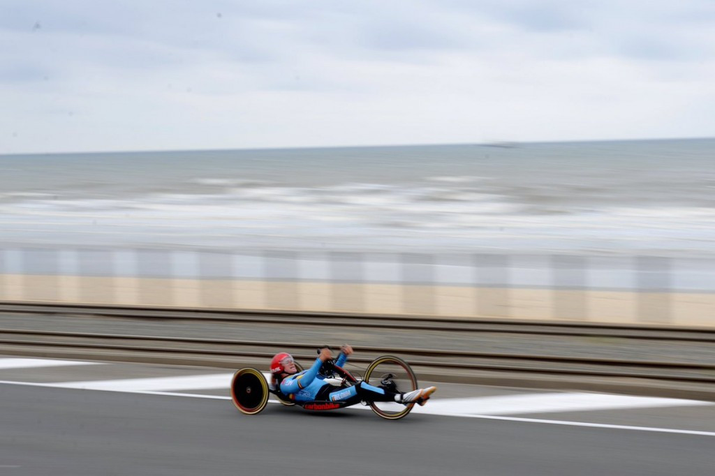 Para-cycling action drew to a close in Ostend ©Twitter/UCI Para-Cycling