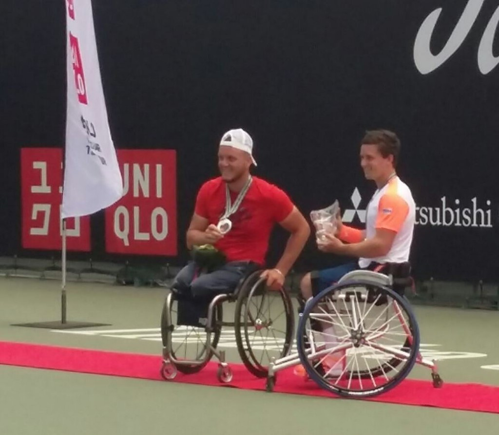 Reid and Kamiji earn Japan Open titles in Iizuka